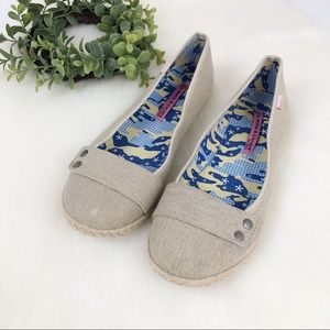 Rock & Candy Shoes - Rock & Candy l Cream band flats 9